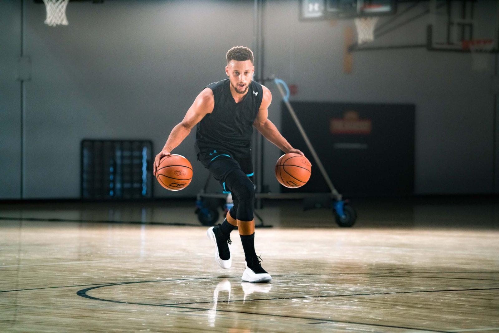 tập luyện bóng rổ
