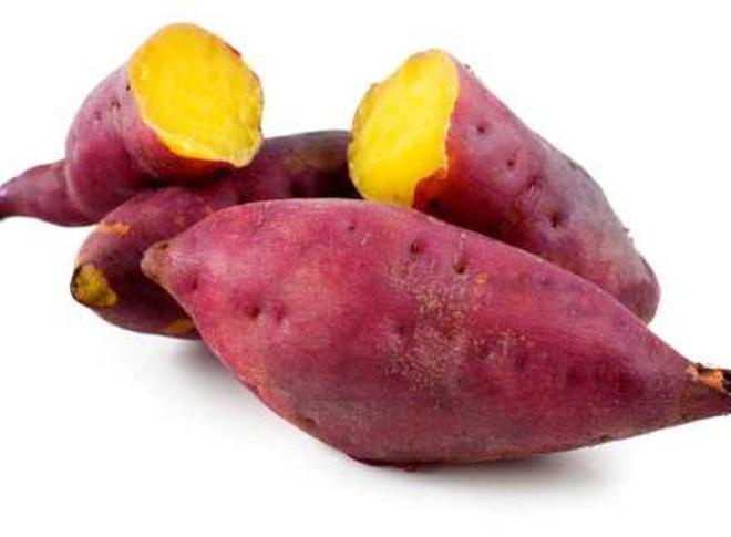 Khoai lang + khoai tây