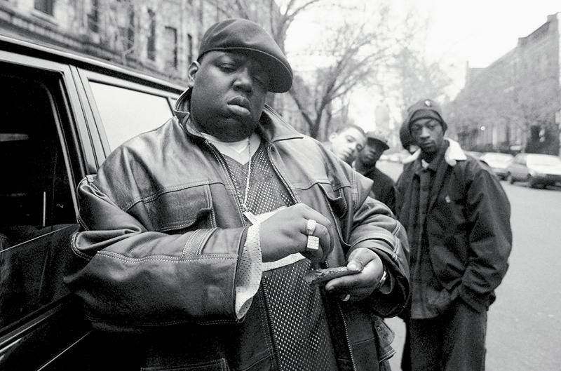 Rapper Notorious B.I.G.